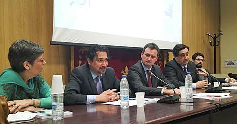 Acto de la revista Bordón y el Observatorio del juego este miércoles en Madrid.