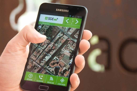 Aplicación de móvil del sistema de gestión de emergencias. | El Mundo