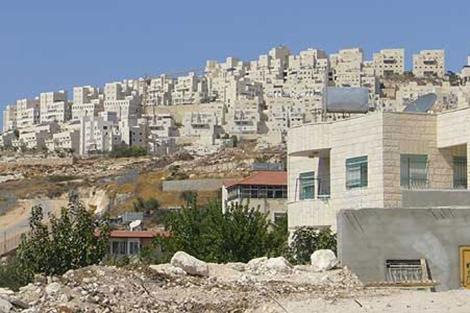 La construcción en los asentamientos de Israel. | S. E.