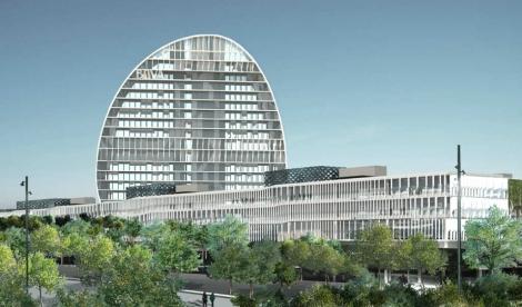 El nuevo complejo de la sede de BBVA