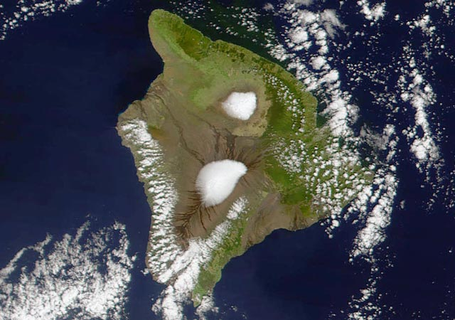 La estación de Mauna Loa en Hawai.| Afp