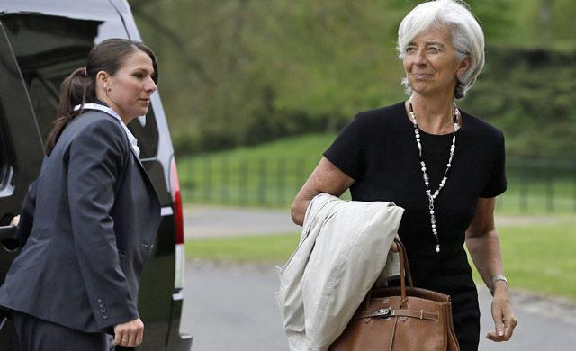 Imagen de Christine Lagarde, directora gerente del FMI
