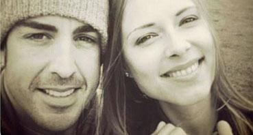 Imagen de Fernando Alonso y su novia