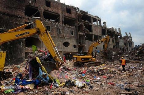 Las labores de rescate en el edificio derrumbado concluirán mañana. | Afp