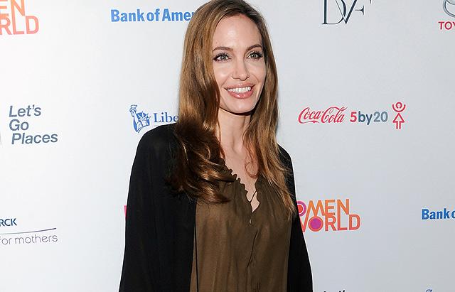Angelina Jolie, el pasado 4 de abril durante un acto. | Gtres