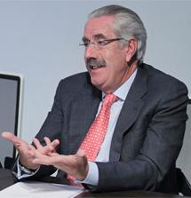 Santos González, presidente de la AHE. | Paco Toledo