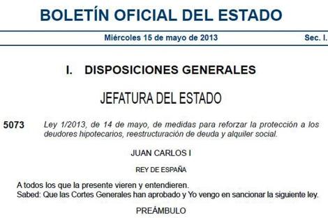 Publicación de la reforma en el Boletín Oficial del Estado (BOE). [Pdf]