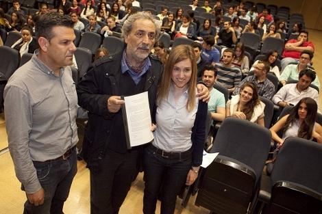 El Defensor del Pueblo, con los estudiantes de Derecho de Córdoba. | Madero Cubero