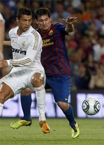 Cristiano Ronaldo y Leo Messi. | Quique García.