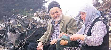 Fatma Karahan y su marido Abdülkadir Karahan.