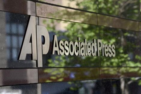 Fachada de la sede de la agencia AP, cuyos registros telefónicos fueron investigados. | EFE