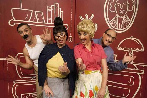 Los protagonistas del espectáculo Bankabaret. | La Dependent
