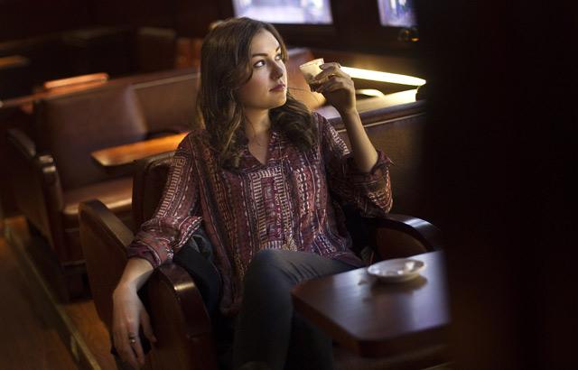 Sasha Grey, durante el rodaje de 'Open Windows'. | Alberto di Lolli
