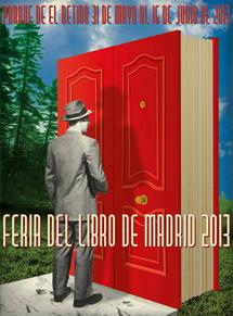 Cartel de la Feria del Libro de Madrid 2013.