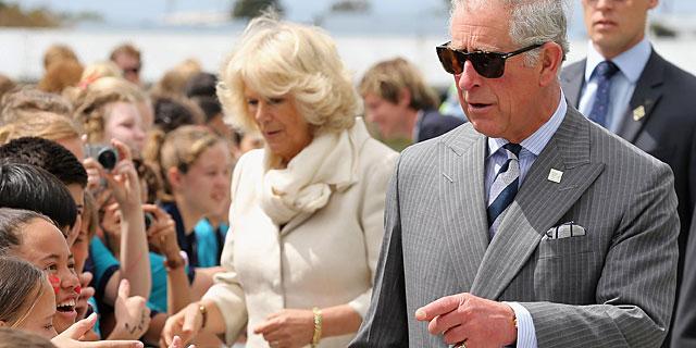 Carlos de Inglaterra y la duquesa de Cornualles, el pasado noviembre en Auckland, Nueva Zelanda. | Gtres