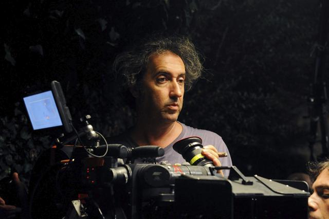 Paolo Sorrentino, durante el rodaje de su última película.