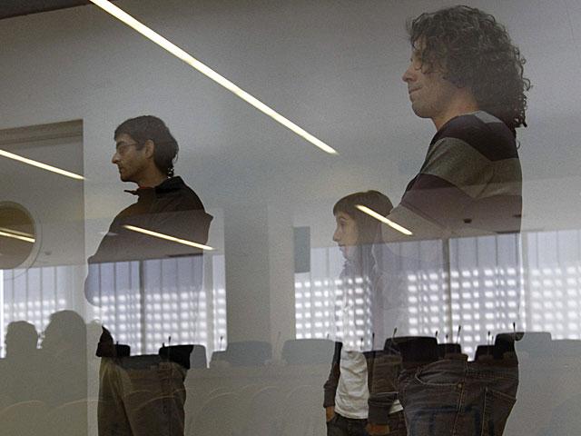 Iñigo Zapirain, Beatriz Etxebarria y Daniel Pastor, durante el juicio. | Pool