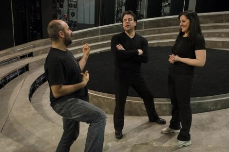 Ensayos de la ópera 'Otello' en el Palau de les Arts.