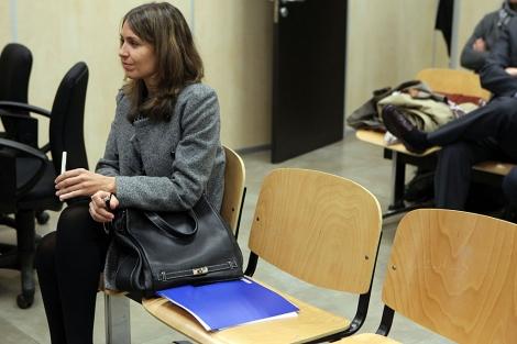 La ex presidenta de Invercaria Laura Gómiz, en una fotografía de archivo.   Jesús Morón