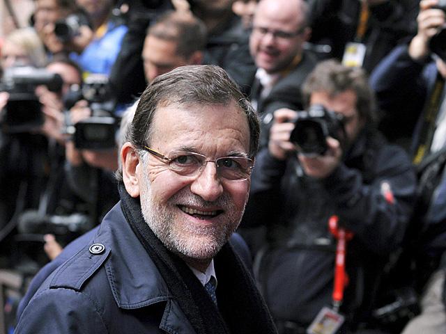 Mariano Rajoy a su llegada al Consejo Europeo en Bruselas. | Eric Vidal / Reuters