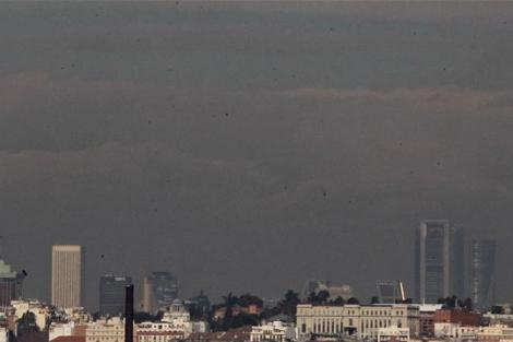 La contaminación sigue siendo uno de los principales problemas de la ciudad.   Ayma