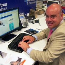 Gustavo Rossi, de Alquiler Seguro, durante un encuentro digital en Elmundo.es