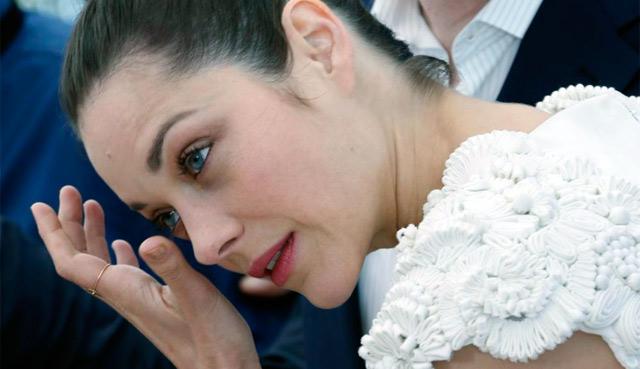 La actriz Marion Cotillard, protagonista de 'The Inmigrant'. | Afp