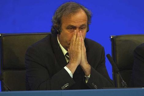 El presidente de la UEFA, Michael Platini. | Foto: Efe / Tom Hevezi.