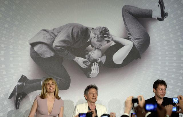 Imagen de Roman Polanski en Cannes