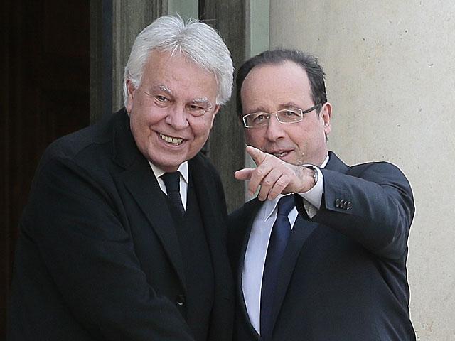 González, recibido por Hollande en el Elíseo.   Jacques Demarthon / Afp