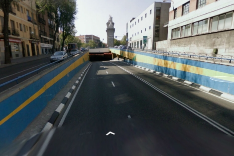Lugar donde se ha producido el atropello.   Google Street View