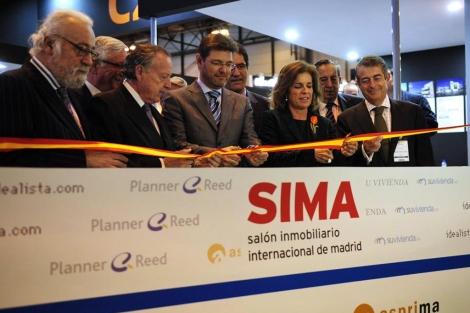 Ana Botella, alcaldesa de Madrid, fue la encargada de cortar la cinta en 2012. | Bernardo Díaz