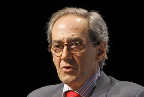 González-Páramo, durante una conferencia.