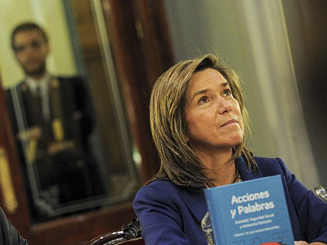 Ana Mato, en un acto en el Senado el pasado febrero. | Gonzalo Arroyo