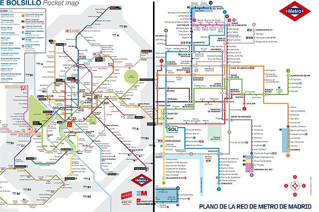 Vuelve El Plano Tradicional Del Metro Para Una Mayor Comodidad Del