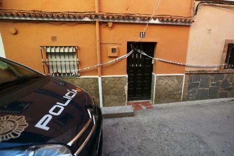 La casa donde murieron los dos hermanos, en Algeciras. | Francisco Ledesma