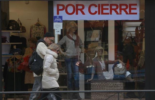Liquidación por cierre de una tienda. | Javier Barbancho