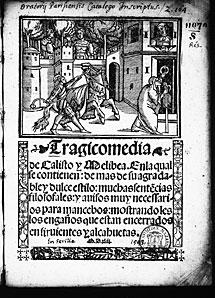 'La Celestina'. Juan Cromberger (1543)