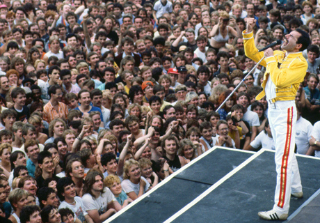 En Wembley, en 1986. | Corbis