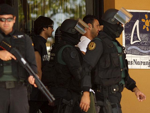 Úno de los detenidos en la operación de Marbella. | Jon Nazca / Reuters