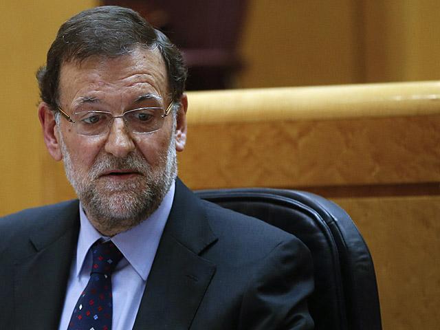 El presidente del Gobierno, Mariano Rajoy, en la sesión de control en el Senado.   Juan Medina / Reuters