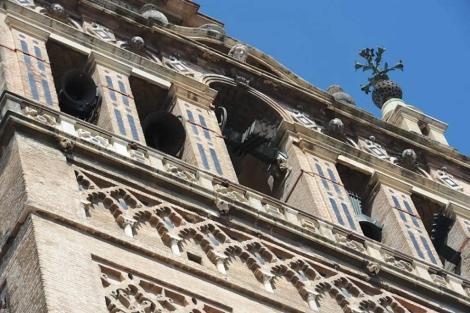 La galería sur de la Giralda. | Archidiócesis de Sevilla