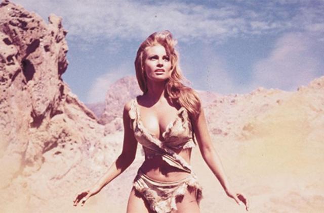Raquel Welch en la película 'Hace un millón de años', de 1966. | E.M.