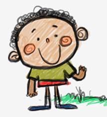 La caricatura de Mamadou, uno de los protagonistas de la campaña
