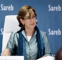 Belén Romana, presidenta de la Sareb.   Efe