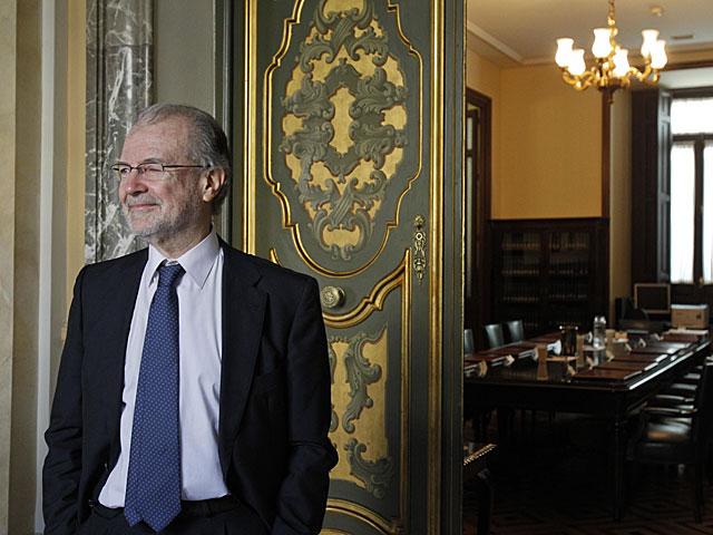 El magistrado Juan Antonio Xíol Rios en el Tribunal Supremo en marzo de 2013. | José Aymá