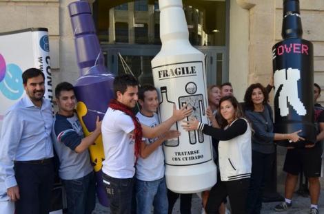 Campaña 'Alcohol Game Over' de la Universidad de Valencia. | EL MUNDO