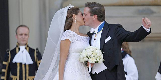 Magdalena de Suecia y su esposo.   Efe/Epa MÁS FOTOS