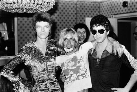 Bowie, Iggy Pop y Lou Reed.   J.R.