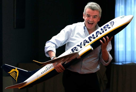 Michael O'Leary, dueño de Ryanair. | Fernando Alvarado